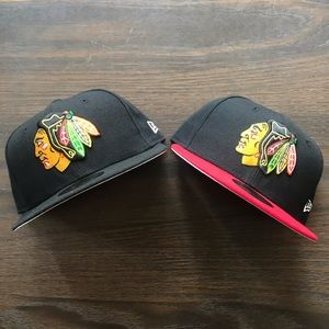 Chicago Blackhawks New Era 59Fifty Fitted Caps